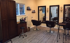 One of Our Individual Hair Styling Areas